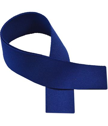 "Royal Blue Medal Ribbon 76cm (30"")"