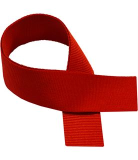 "Red Medal Ribbon 76cm (30"")"