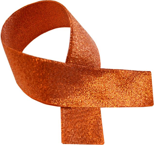 """Bronze Glitter Medal Ribbon 76cm (30"""")"""