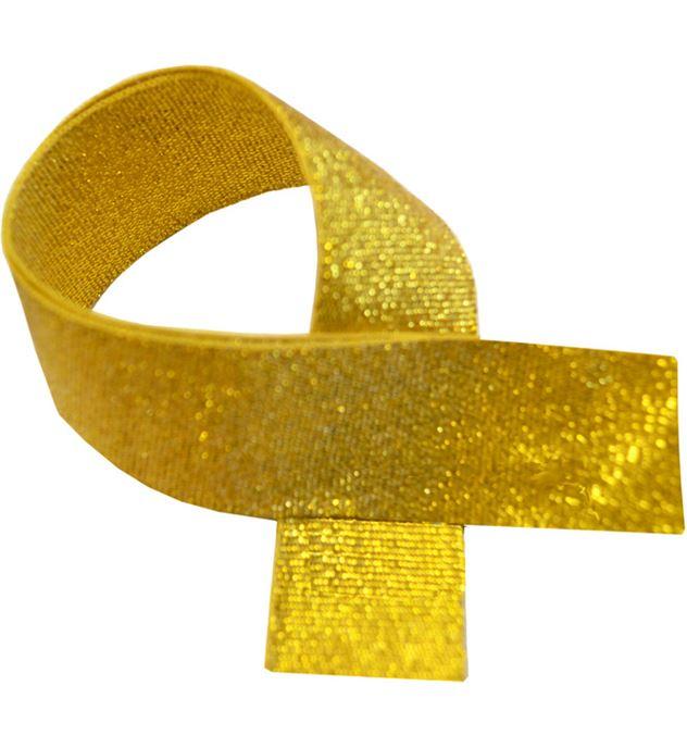 """Gold Glitter Medal Ribbon 80cm (32"""")"""