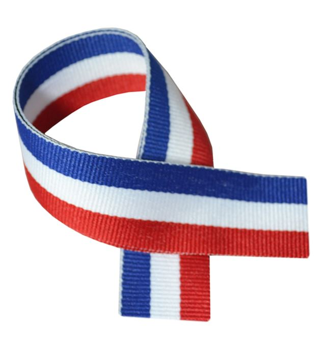 "Red, White & Blue Medal Ribbon 80cm (32"")"