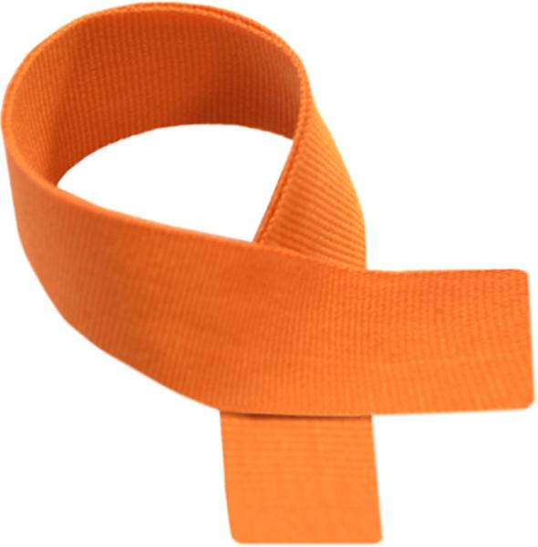 """Orange Medal Ribbon 76cm (30"""")"""