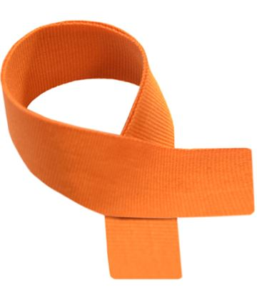 "Orange Medal Ribbon 76cm (30"")"