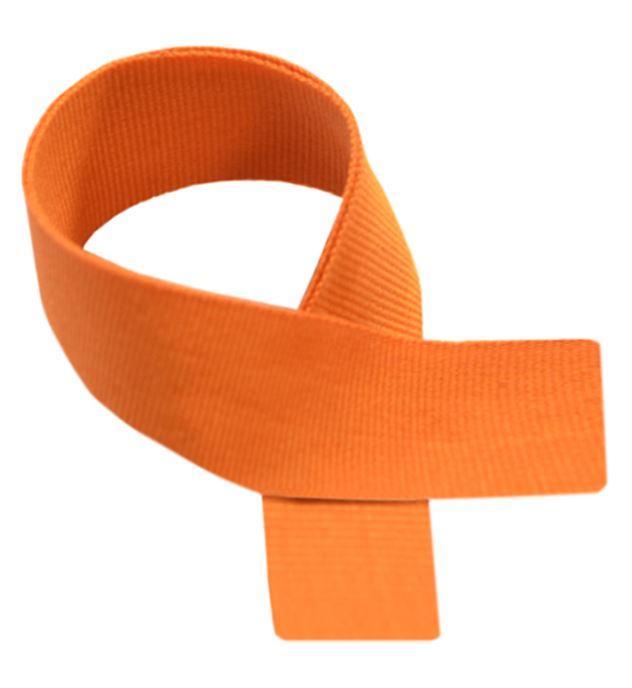 """Orange Medal Ribbon 80cm (32"""")"""