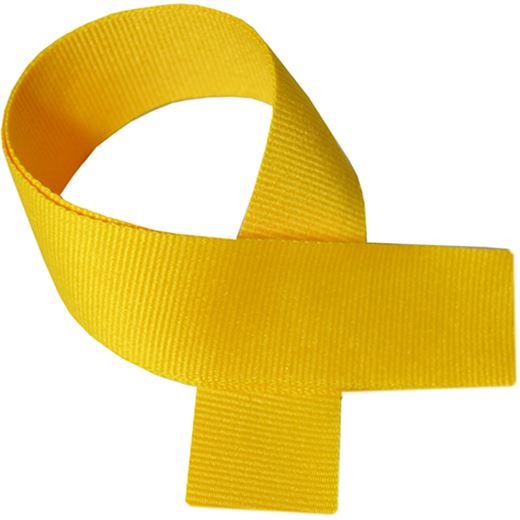 "Yellow Medal Ribbon 80cm (32"")"
