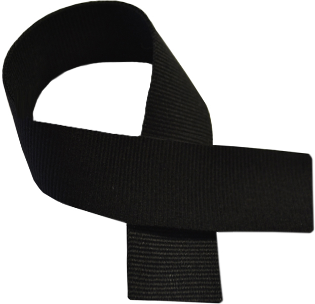 "Black Medal Ribbon 76cm (30"")"