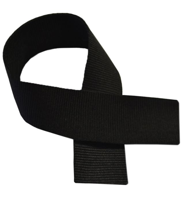 "Black Medal Ribbon 80cm (32"")"