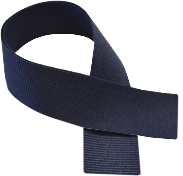 "Navy Blue Medal Ribbon 76cm (30"")"