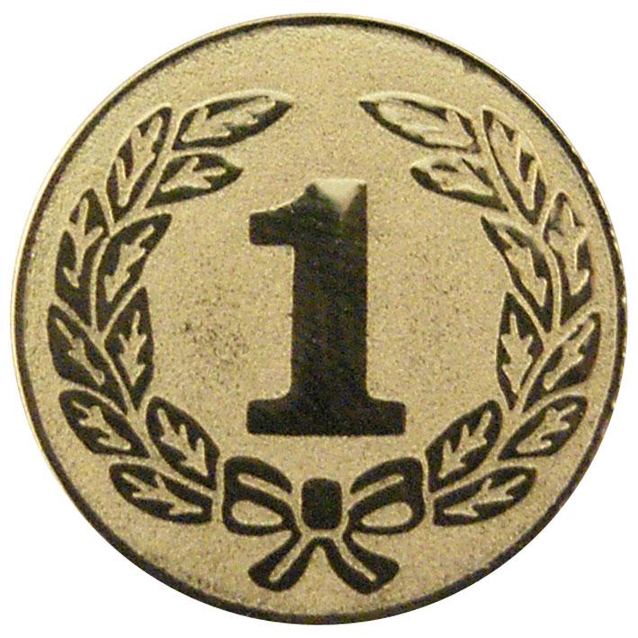 1st Place Gold Centre Disc