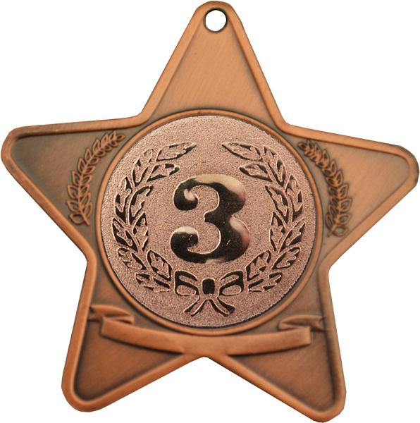 "Bronze Star 50mm (2"")"