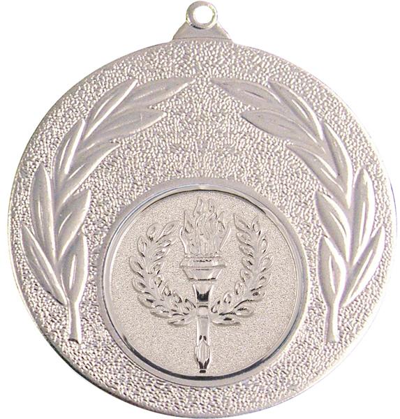 "Silver Leaf Victory Medal 50mm (2"")"