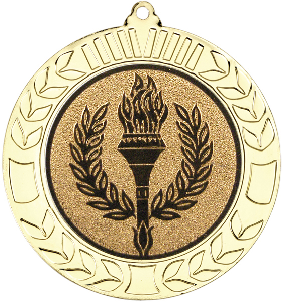 "Gold Wreath Medal 70mm (2.75"")"