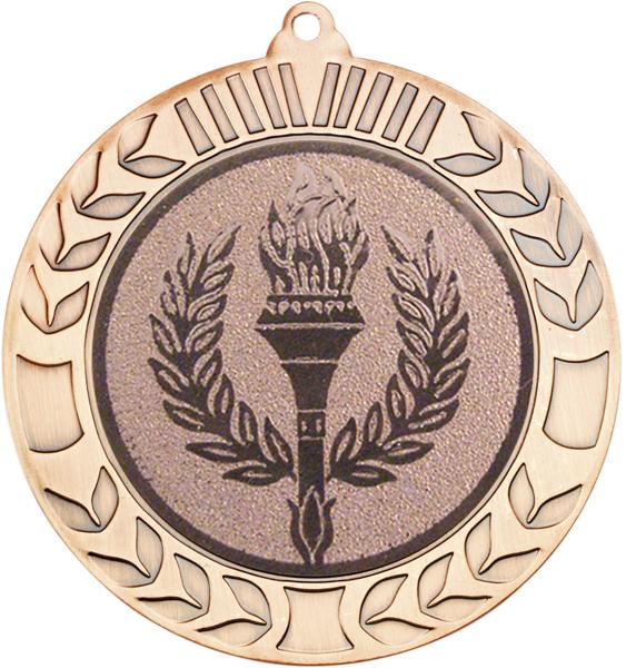 "Bronze Wreath Medal 70mm (2.75"")"