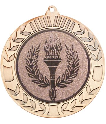 "Bronze Wreath Medal 70mm (2.75"")"