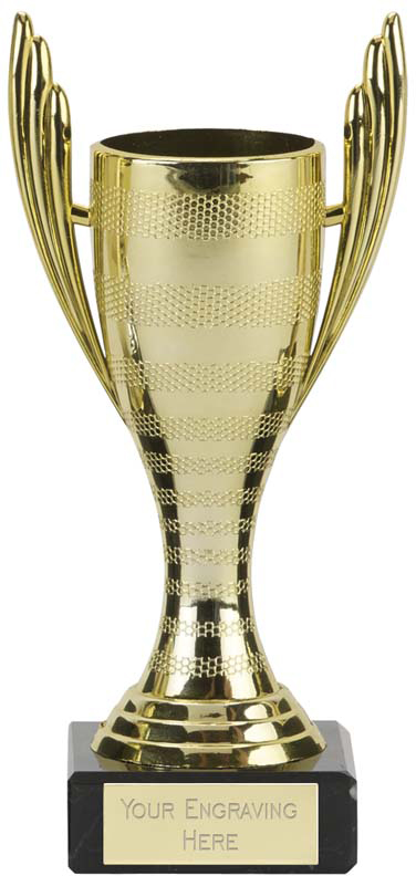 "Mercury Cup Gold Trophy 16cm (6.25"")"