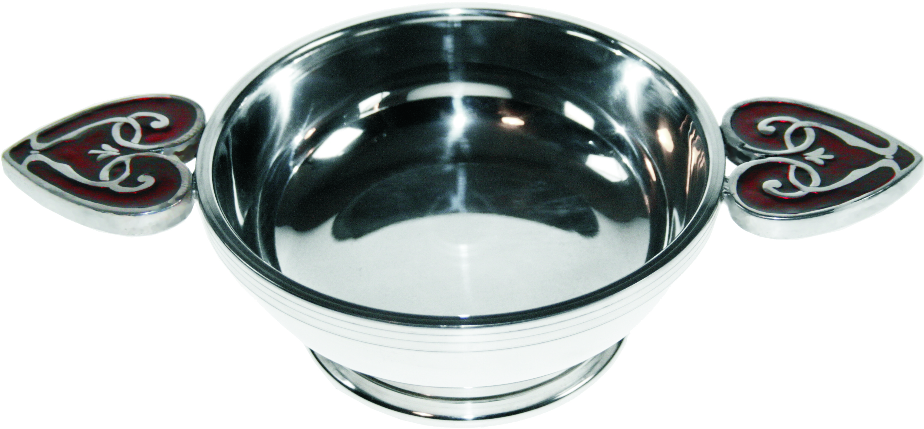 "Heart of the Highlands Pewter Quaich Bowl 11.5cm (4.5"")"