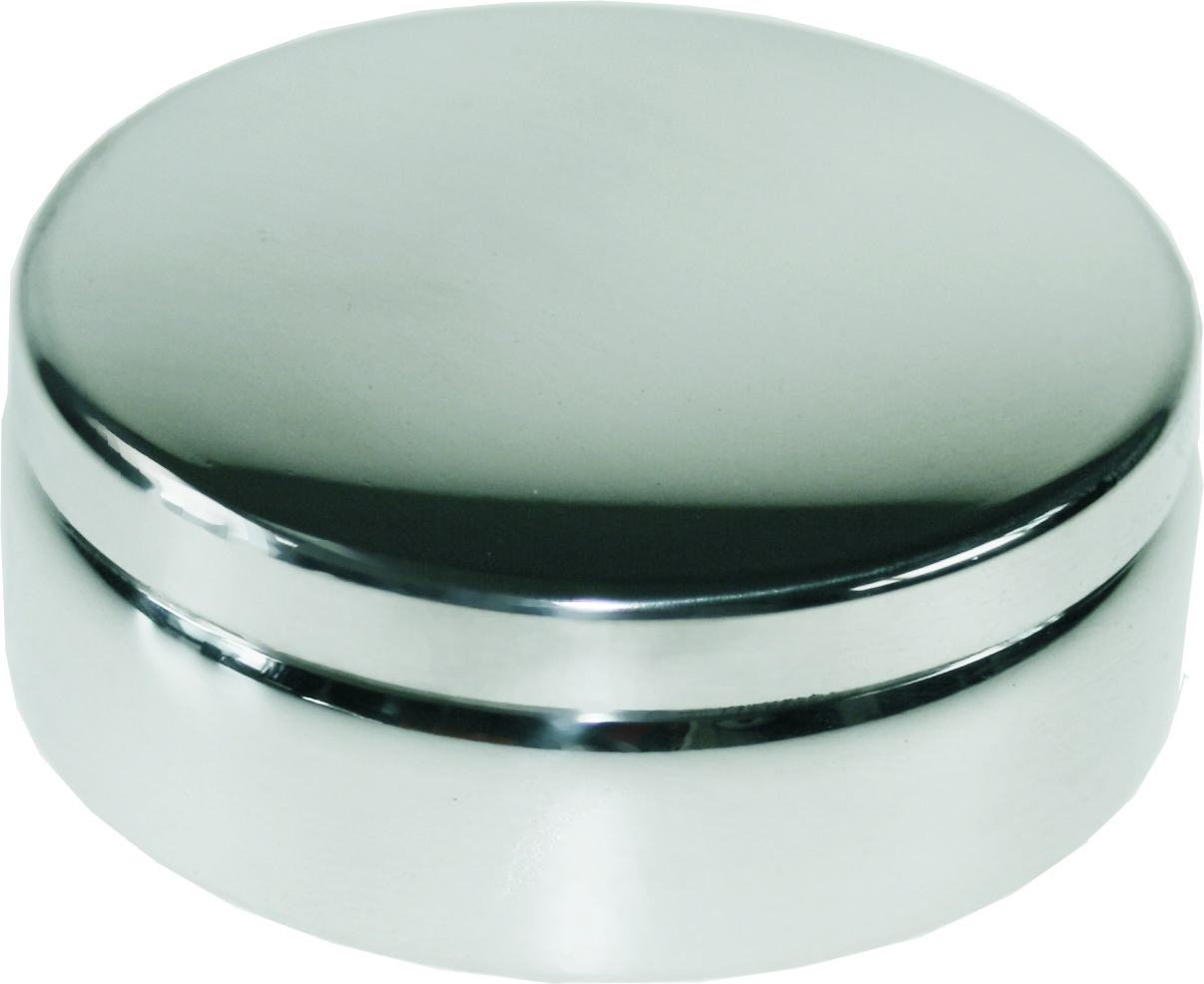 "Plain Round Trinket Box 6cm (2.5"")"