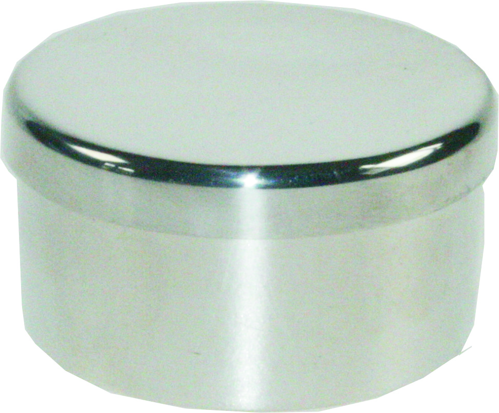 "Plain Round Trinket Box 5cm (2"")"