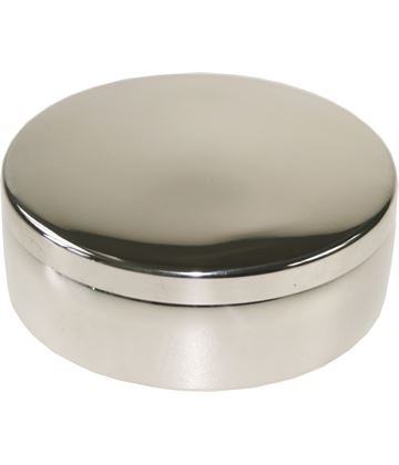 "Plain Round Trinket Box 8cm (3"")"