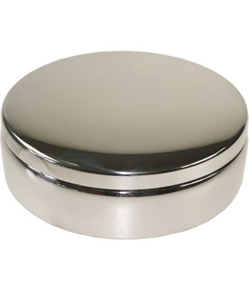 "Plain Round Trinket Box 10cm (4"")"