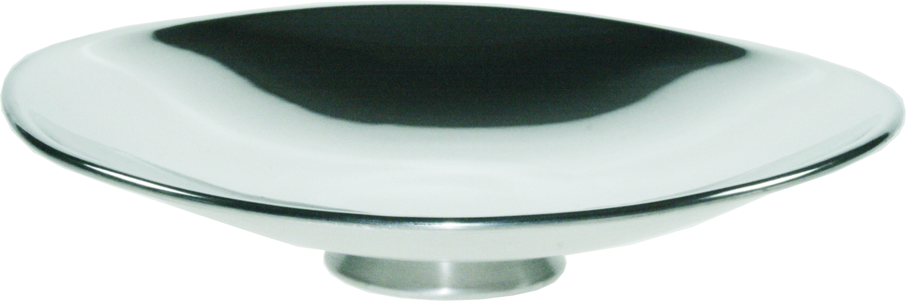 "Plain Shallow Pewter Bowl 21cm (8.25"")"