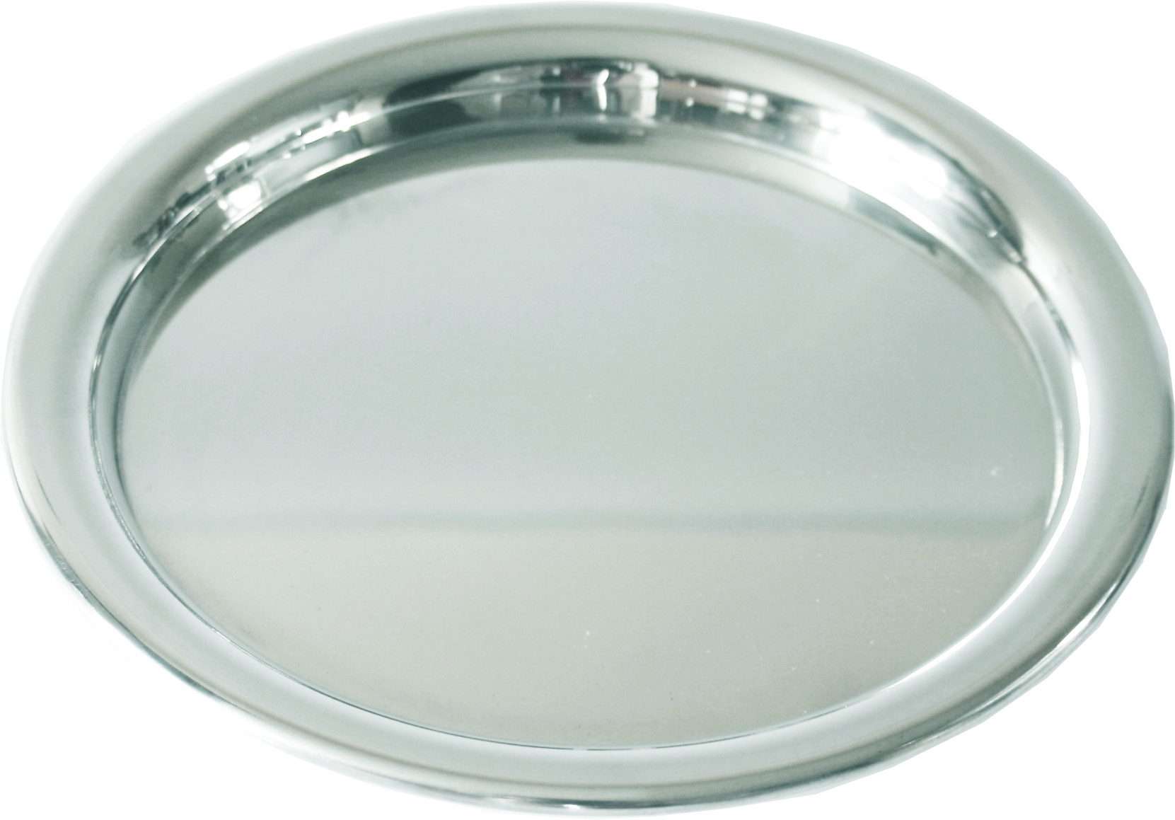 "Plain Round Engravable Tray 17cm (6.75"")"
