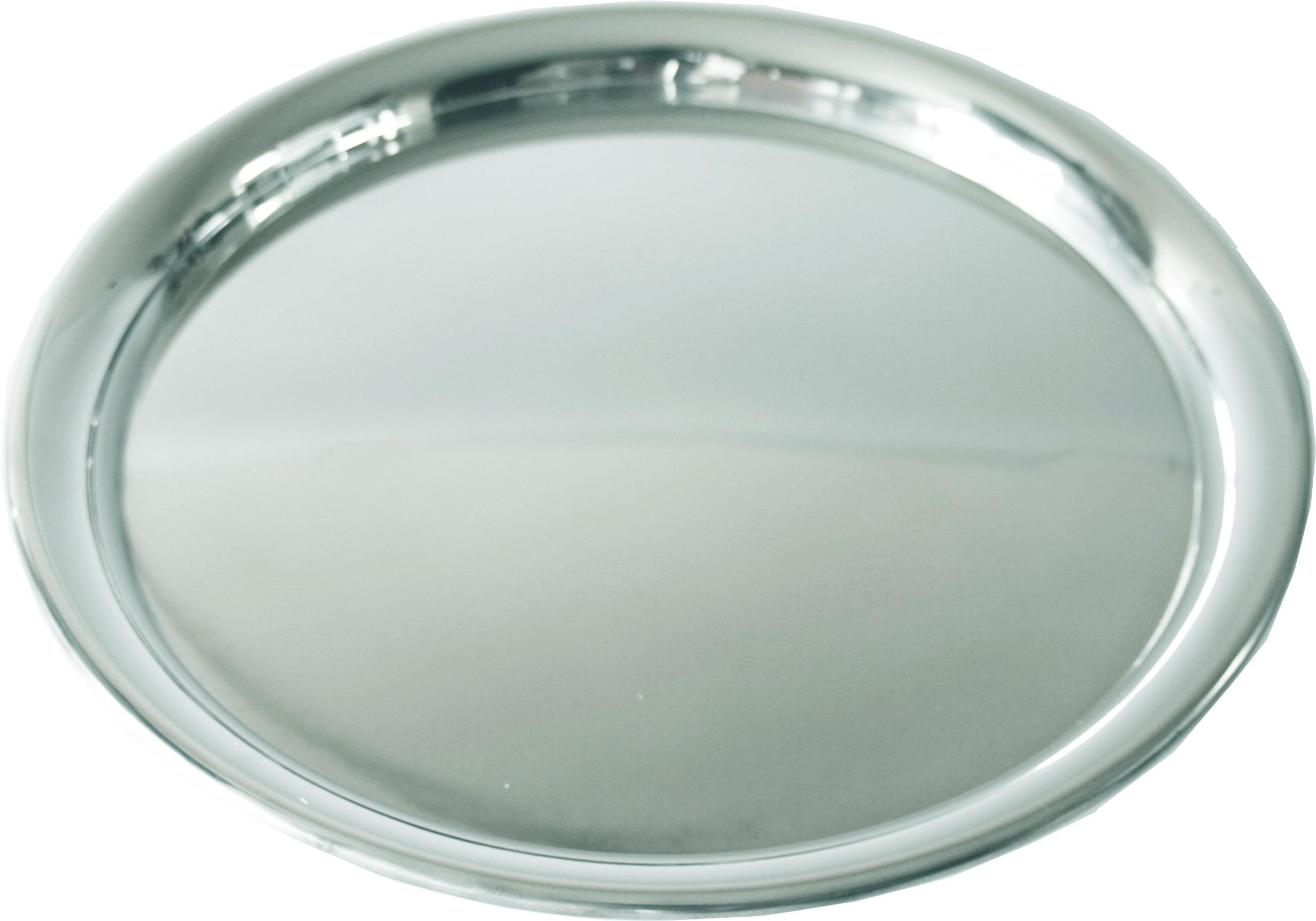 "Plain Round Engravable Tray 24cm (9.5"")"