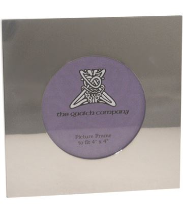 "Plain Silver Pewter Photo Frame 14cm (5.5"")"