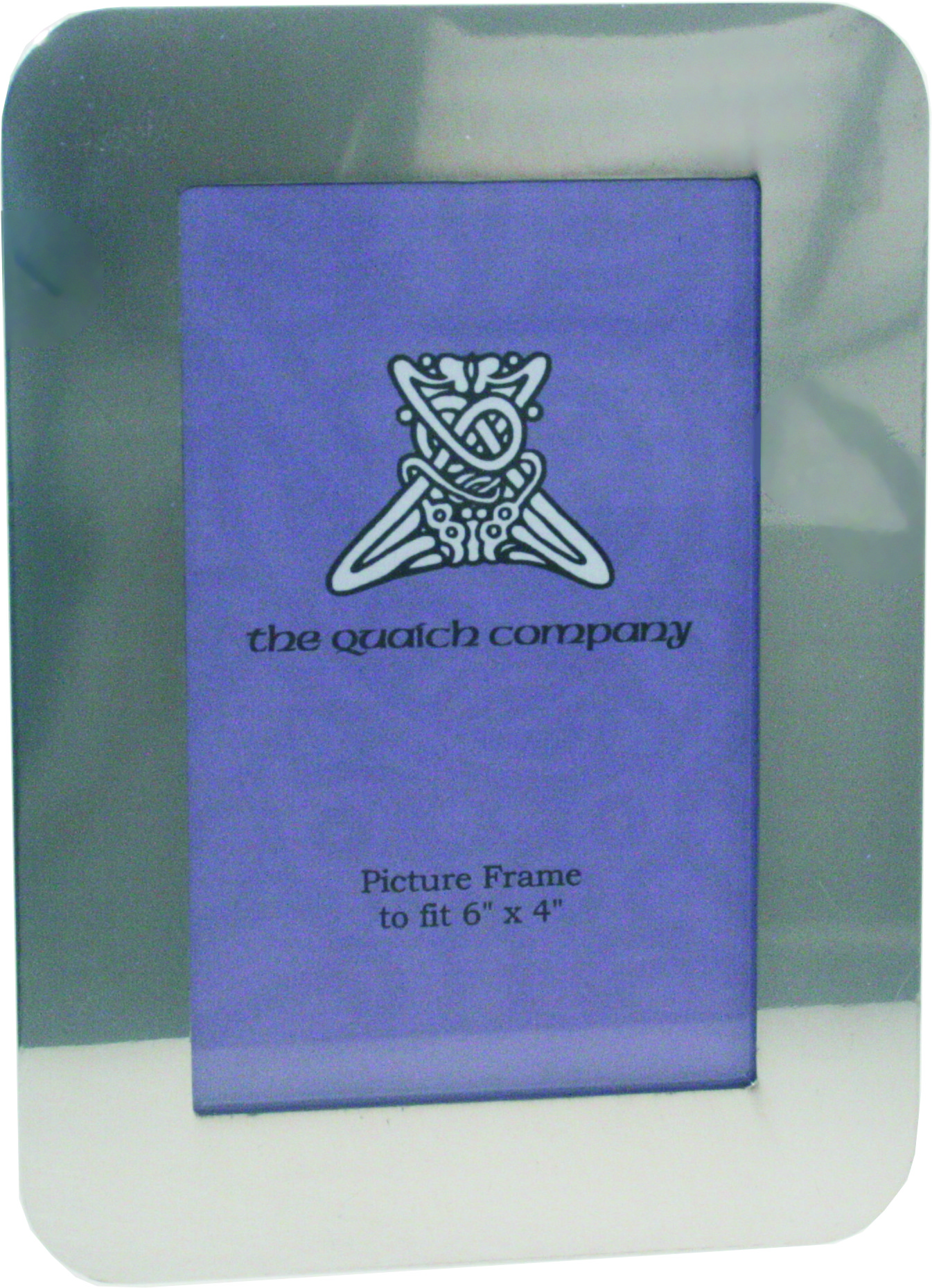 "Plain Silver Pewter Photo Frame 19cm (7.5"")"