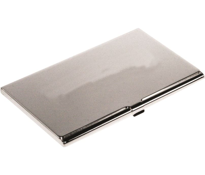 "Nickel Plated Business Card Case 17.5cm (6.75"")"