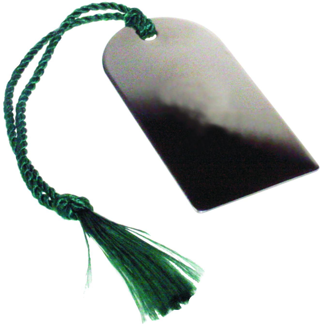 "Stainless Steel Bookmark 6.5cm (2.5"")"