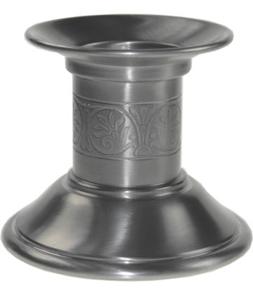 "Candlestick Holder with Medieval Inspired Detailing 9.5cm (3.75"")"