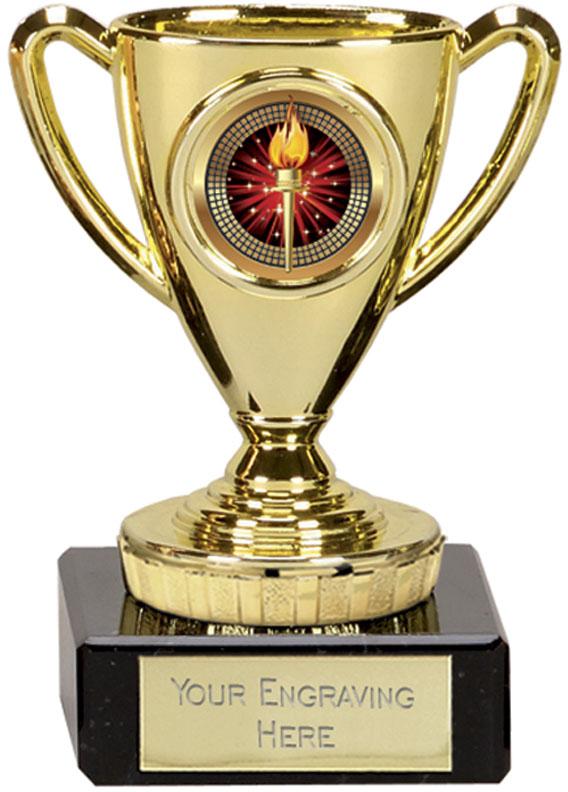 """Gold Cup Trophy 10cm (4"""")"""