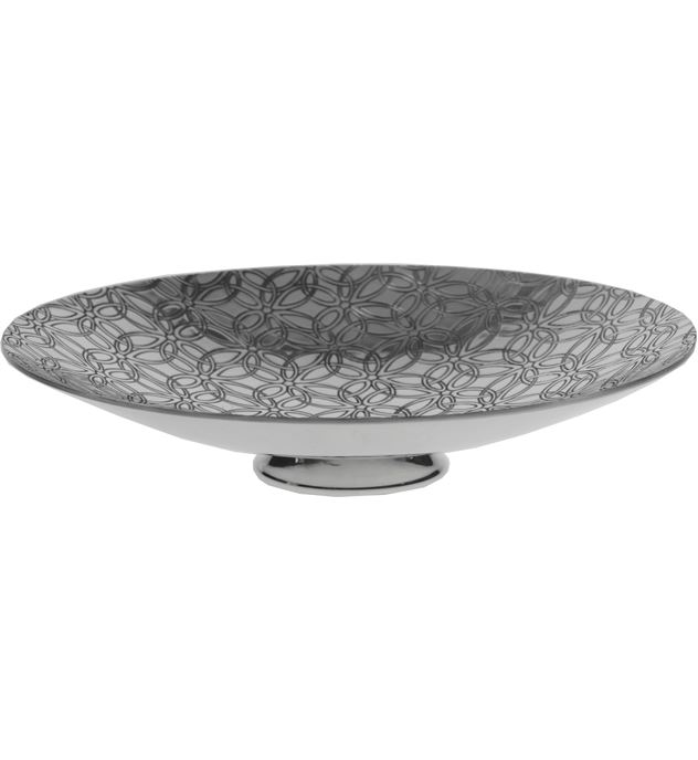 """Triquetra Pattern Pewter Bowl 20.5cm (8"""")"""