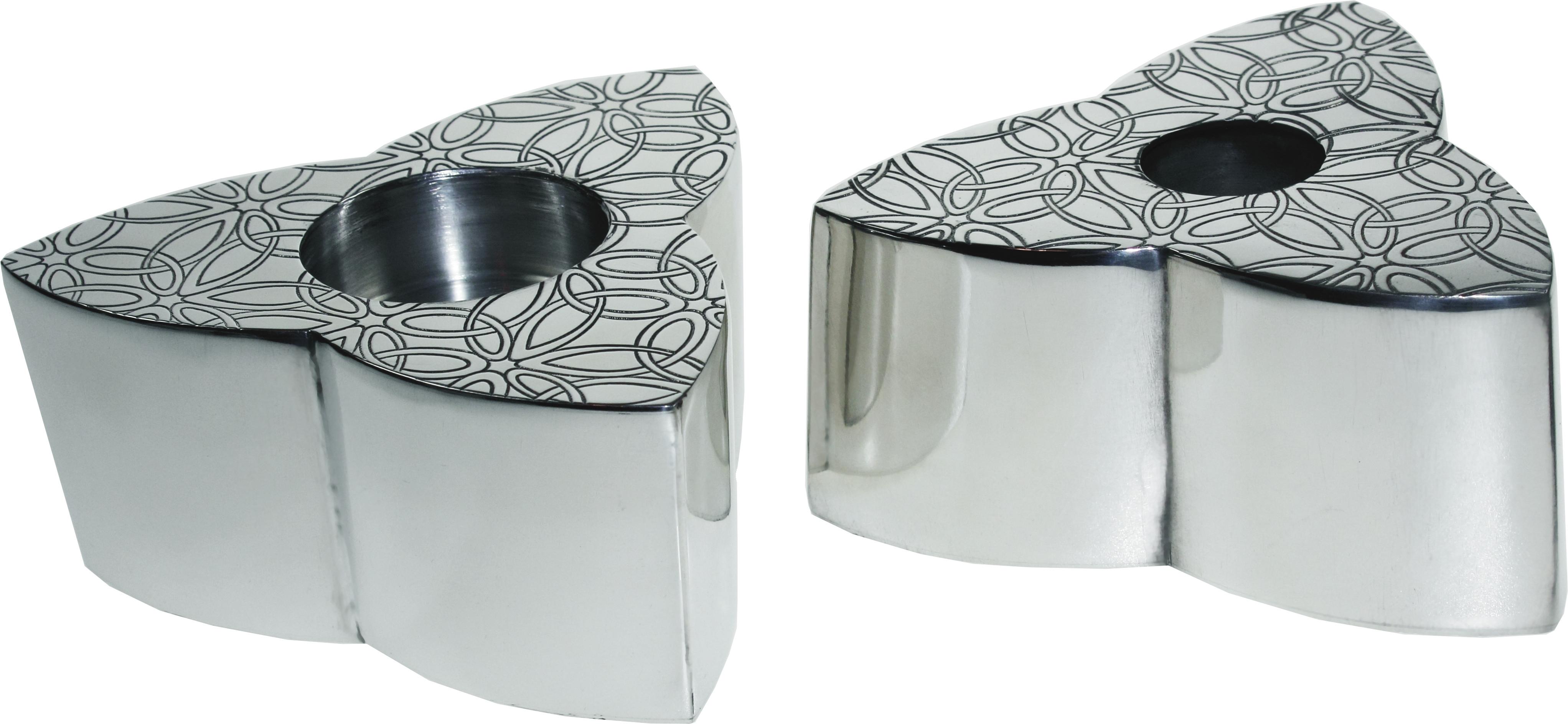"Triquetra Reversible Dual Candle Holder 5cm (2"")"