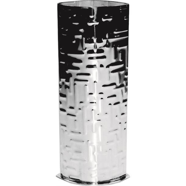 "Pewter Bud Vase with Metropolitan Pattern 16cm (6.25"")"