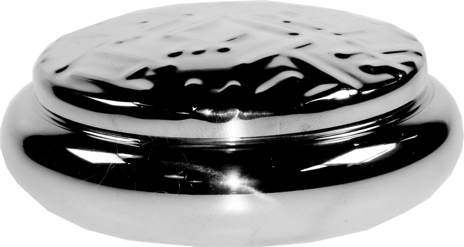"Pewter Georgian Trinket box with a Metropolitan Pattern 3.5cm (1.25"")"