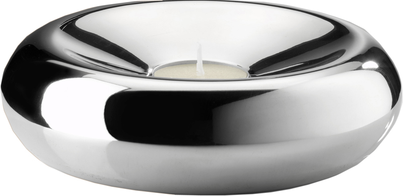 "Round Spin Tea Light Candle Holder 16cm (6.25"")"