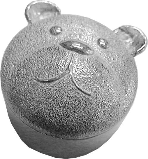 """Trinket Box with Teddy Bear Detailing 3.5cm (1.25"""")"""