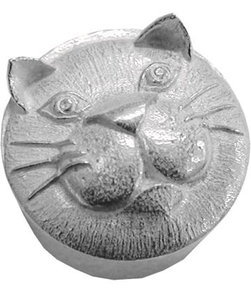 "Trinket Box with Cat Detailing 3.5cm (1.25"")"