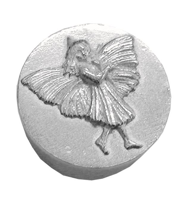 "Trinket Box with Fairy Detailing 3.5cm (1.25"")"