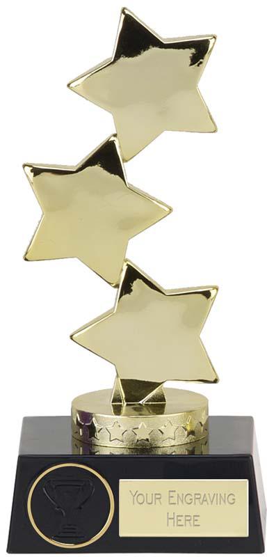 """Hope Stars Gold Award 18.5cm (7.25"""")"""