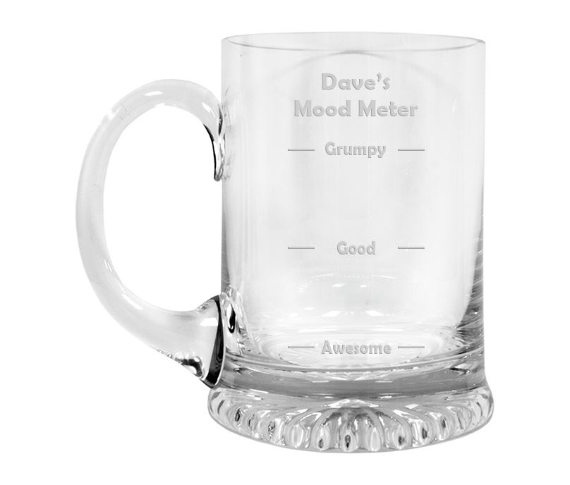 "Mood Meter Crystal Star Base Tankard 3/4pt 13cm (5.25"")"