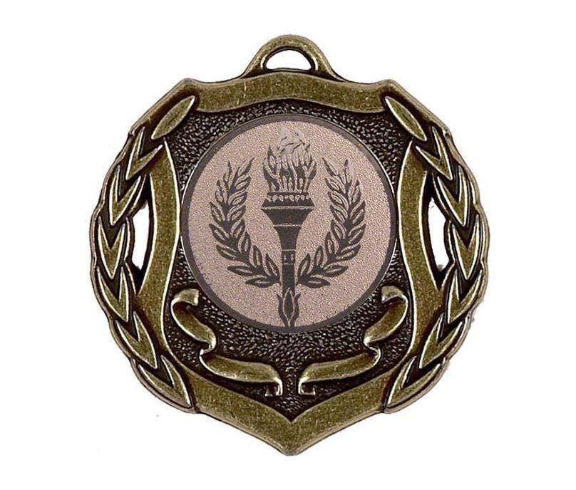 "Bronze Multi Sport Shield Medal 50mm (2"")"
