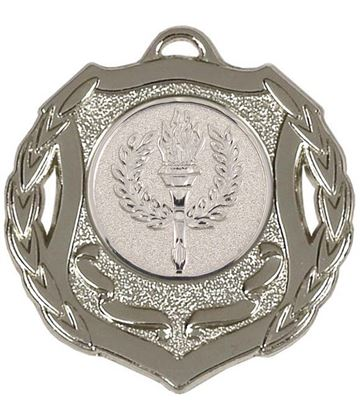 "Silver Multi Sport Shield Medal 50mm (2"")"