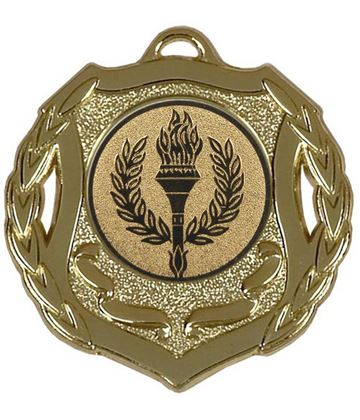 "Gold Multi Sport Shield Medal 50mm (2"")"