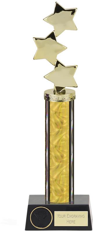 """Hope Star Gold Plastic Column Award 33.5cm (13.25"""")"""