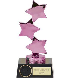 "Hope Stars Purple Award 18.5cm (7"")"