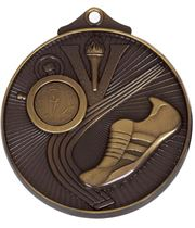 "Bronze Horizon Athletics Track Medal 52mm (2"")"