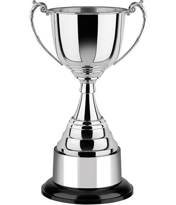"Revolution Nickel Plated Cup with Black Bakelite Base 29cm (11.5"")"